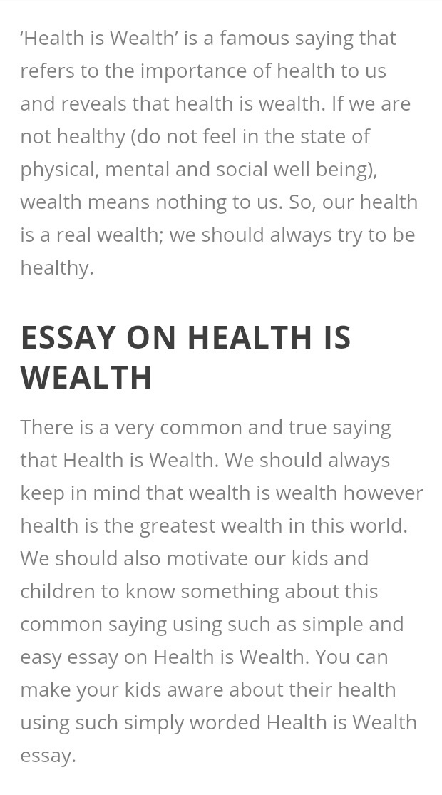 Warriors Don T Cry Essay  Score My Essay also Harrison Bergeron Essay Health Is Wealth Essay  Floodrescuecom Sample Of Descriptive Essay About A Person