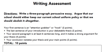 5 Paragraph Essay Structure Outline Up To The Mid