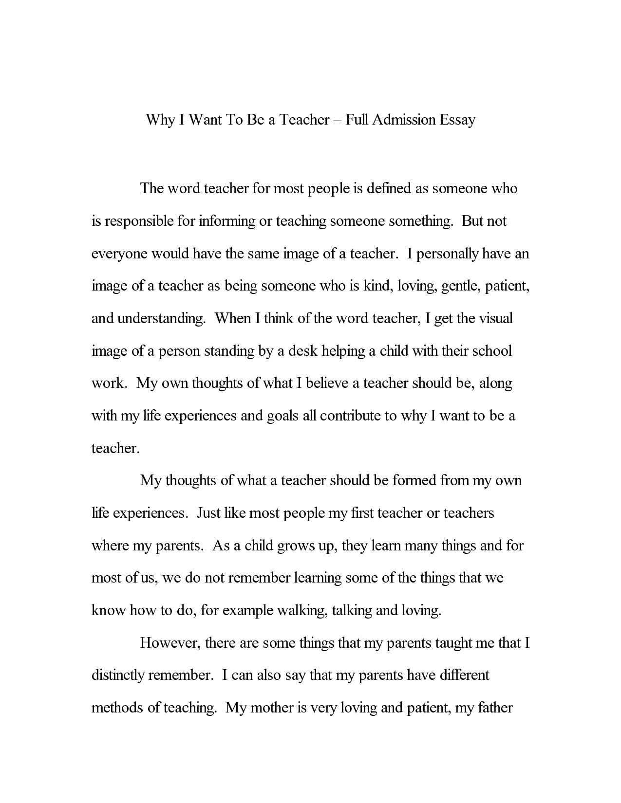 Good Cause And Effect Essay Example