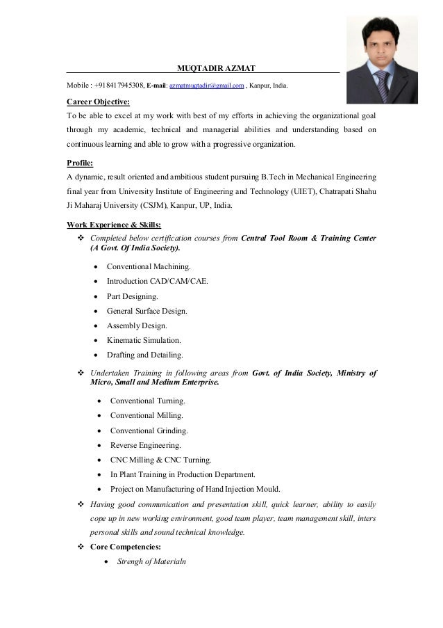 Best Career Objective For Resume For Mechanical Engineer Essay Writing Compare And Contrast