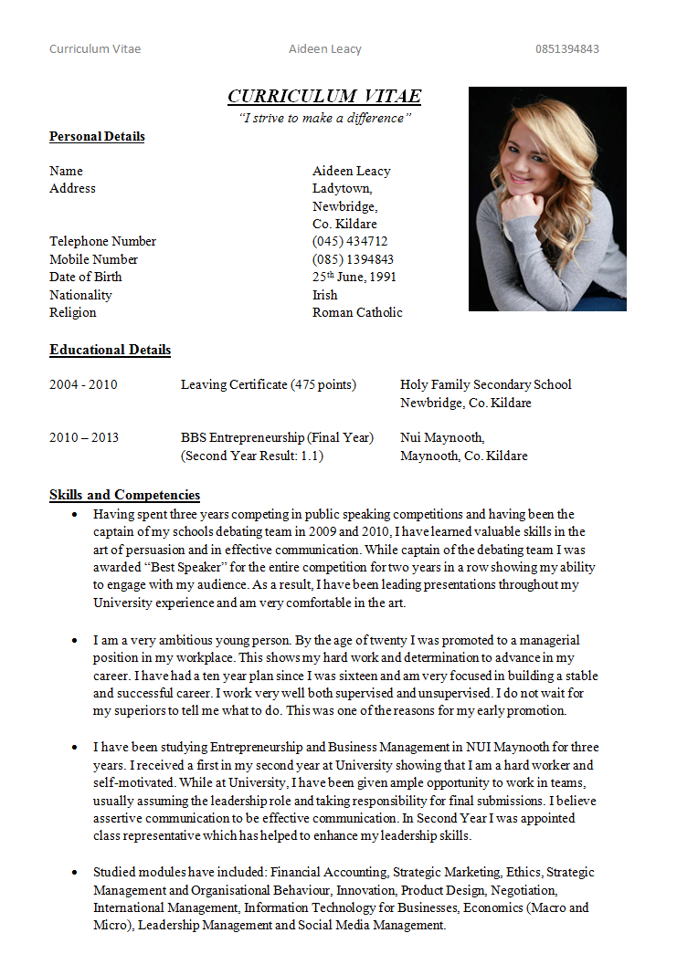 Example College Essays 2013 Pdf