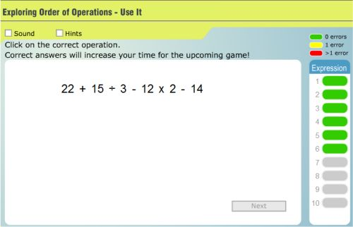 image about Order of Operations Game Printable identified as Essay upon purchase of functions do my ignment low-cost