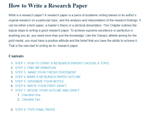 get paid to write research papers online
