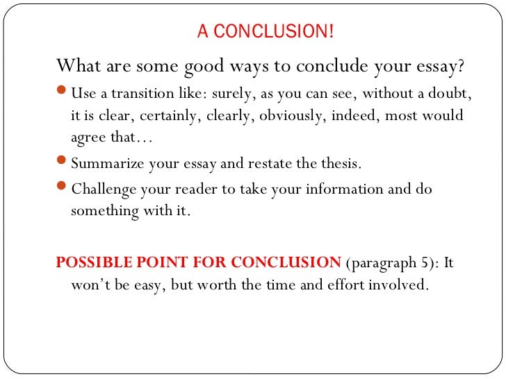 how to make a good paragraph essay