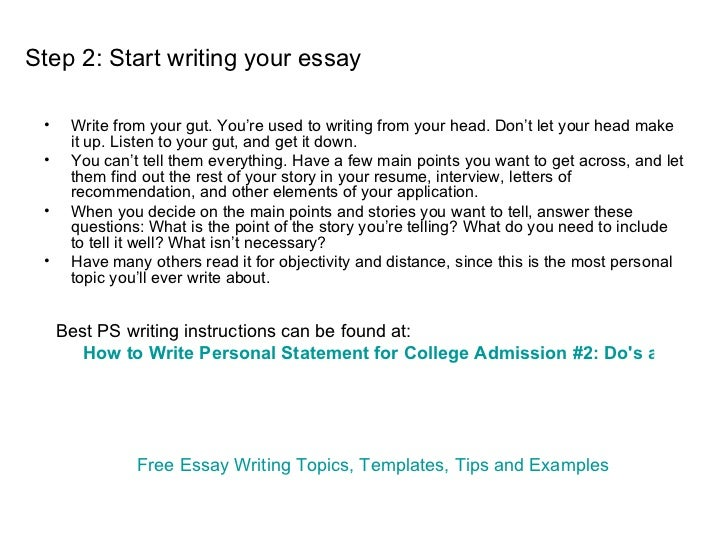 How To Write An Essay About Myself Paragraph