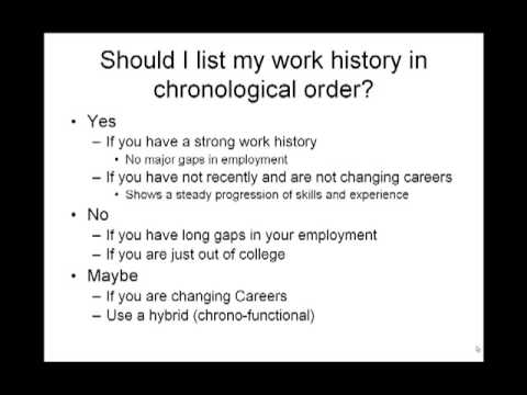How To Order A Resume
