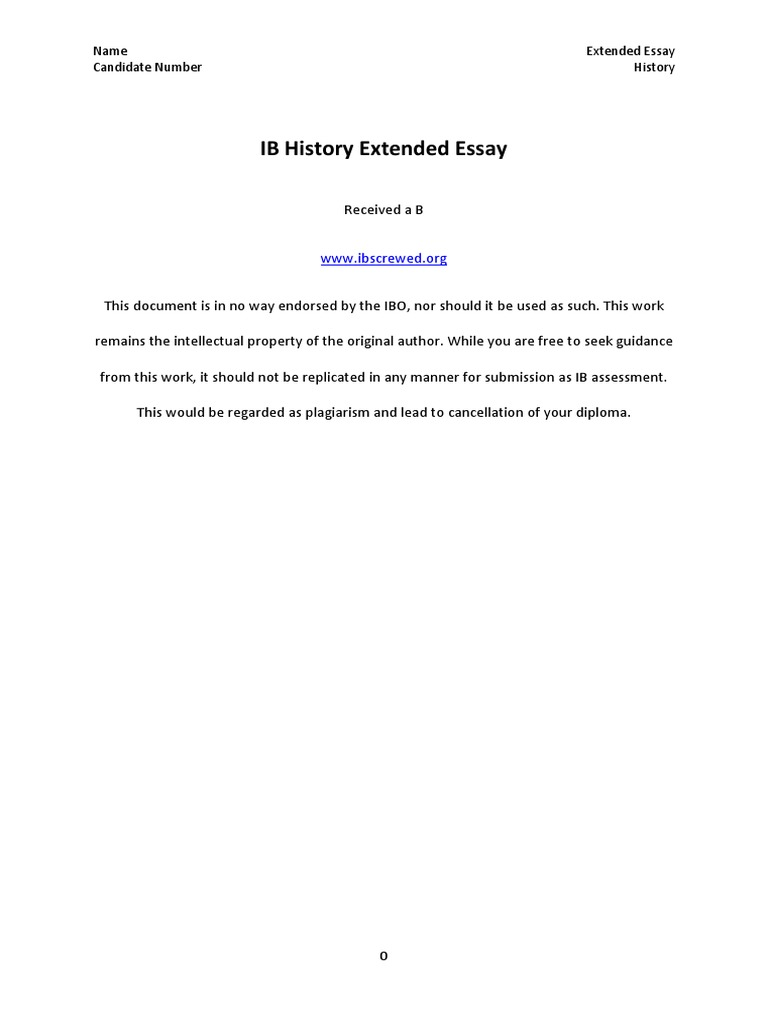 Example math extended essays