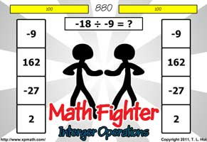 photograph regarding Adding and Subtracting Integers Printable Games identify Integer research aid advertising research support