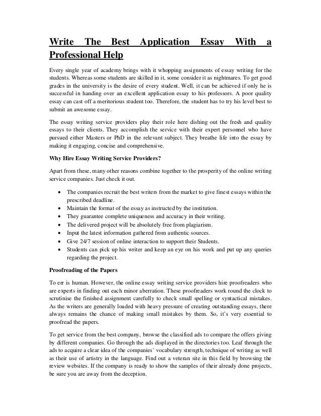 Sample Best Narrative Essay