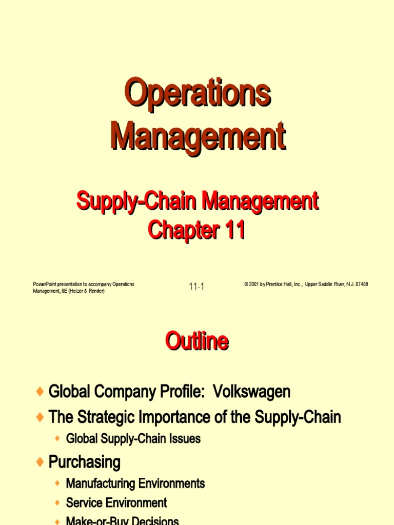 Operations Management By Russell And Taylor Ppt