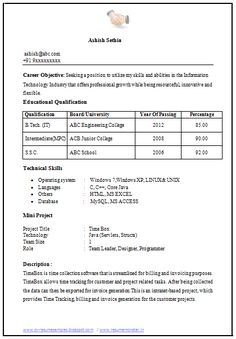 Resume For Mechanical Engineer Fresher Write My Research Paper