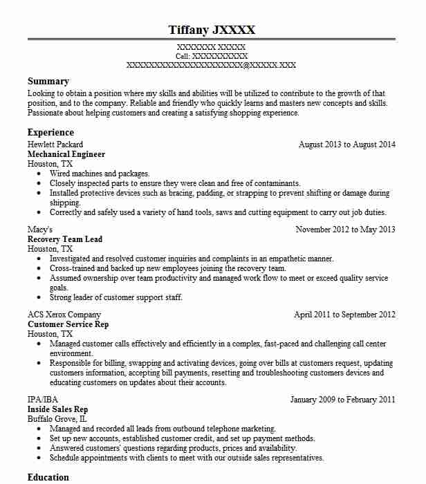 Resume Objective For Mechanical Engineer Trusted Essay Writing Service