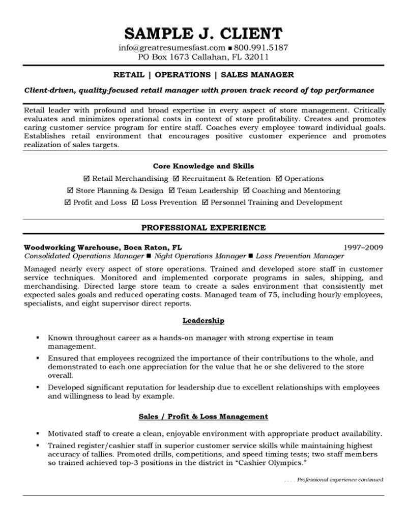 Resume objective for sales manager position help writing an ...