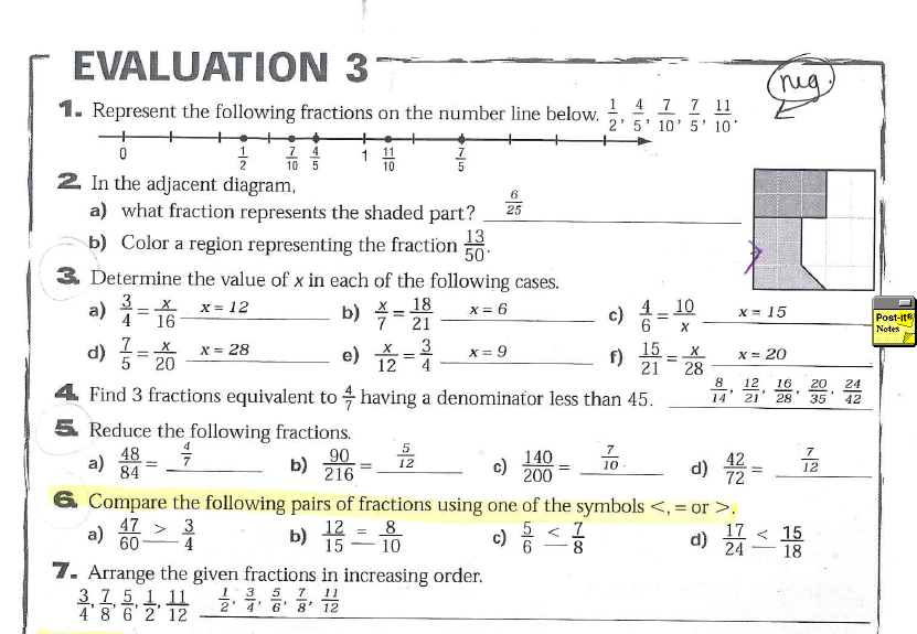 Grade 4 math mixed review worksheets