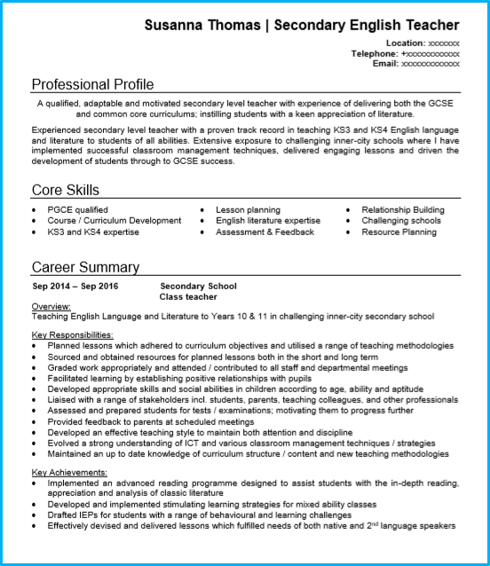 Best Resume Writing Services 2014 For Teachers