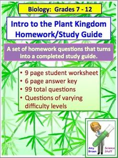 Science Homework Help Bioecology